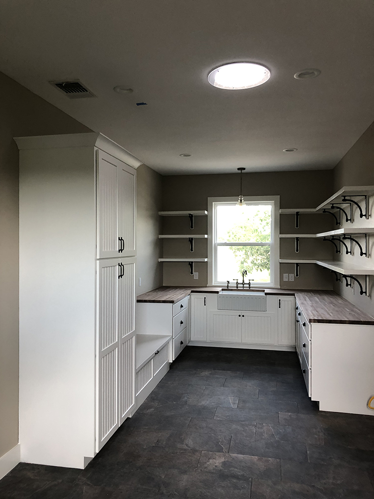 Elgin Remodel Addition Interior from Custom Home Builder in Bastrop