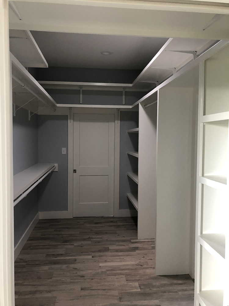 Elgin Remodel Addition Closet from Custom Home Builder in Bastrop